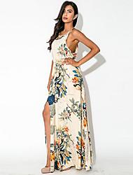Robes ( Mousseline ) Sexy/Soirée Rond Femme