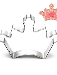 moldes rainha do rei coroa forma cortadores de biscoito de frutas cortadas em aço inoxidável