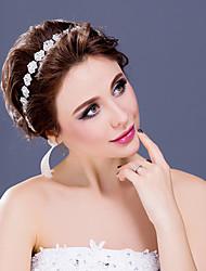 Women's/Flower Girl's Rhinestone/Alloy Headpiece - Wedding/Special Occasion/Casual Tiaras/Headbands 1 Piece