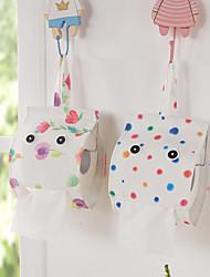 cozzy 12cm * 25cm de haut grade tissu sourire serviette de visage sacs suspendus (sept de couleur violette 2)