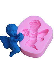 Baking Molds Angel Fondant Mold Cake Decoration Mold