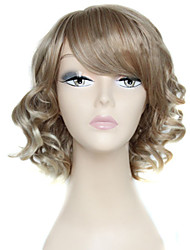 Europe And The United States the New Lady Grey Short Curly Wig
