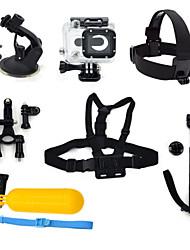 7-em-1 kit de acessórios para GoPro Hero 3 câmera ourspop k28 gp-