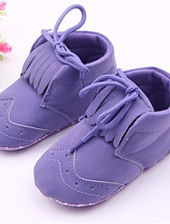 Baby Shoes - Casual - Stivali - Tessuto - Viola / Rosso
