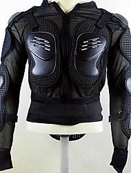 Libo 2015 New Fashion Moto Young People's Long Sleeve All Season Shockproof Motosuits Black
