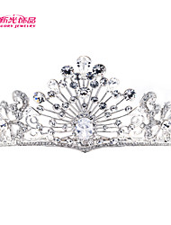 Neoglory Jewelry SEPjewelry Luxury Royal Tiaras Rhinestone Crown Bridal Wedding Hair Jewelry Women Hair Accessories