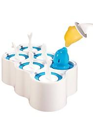 qooc Fisch Eis pop Formen - 6-Sticks