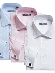 Men's  Business long  Sleeve cotton shirt   Top  Tops Type (Fabric)