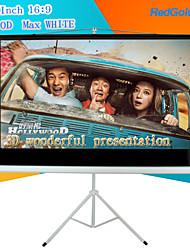 redgoldleaf 100 pulgadas 16: 9 pantalla de proyector portátil con soporte