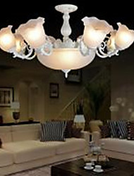 Flush Mount , Traditional/Classic/Vintage/Retro Living Room/Bedroom/Dining Room/Study Room/Office/Hallway Metal