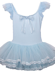 Ballet Dresses Children's Performance Cotton / Spandex / Polyester Bow(s) / 1 Piece Blue / Pink / Yellow
