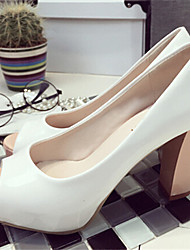 Women's Shoes  Chunky Heel Pointed Toe Sandals Dress Yellow/Pink