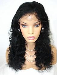 """8 """"-26"""" pelucas del cordón del pelo humano del pelo virginal brasileño ondulado pelucas del cordón"""