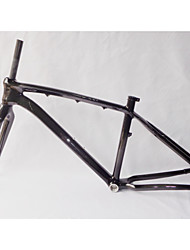 "MB-NT02+FK-NT19 Neasty Brand  Full Carbon Fiber Carbon Black 26er MTB Frame and Fork 15""/17"""