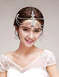 Elegant Sparkling Rhinestones Wedding/Party Headpieces/Forehead Jewelry