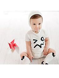 Baby's Short Sleeve Romper Infant Onesies Bodysuit