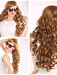European and American Ppopular High Quality Fashion Color Curly Hair Wig