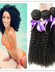 3pcs / lot grande vendita 8a malesi capelli vergini sexy malesi capelli ricci crespi non aggrovigliare i capelli ricci malesi ricci
