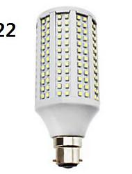 15W E14 / GU10 / B22 / E26/E27 Ampoules Maïs LED T 282 SMD 3528 650 lm Blanc Chaud / Blanc Froid / Blanc Naturel AC 85-265 V