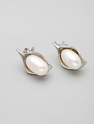 Alloy / Imitation Pearl Earring Stud Earrings Daily 1set