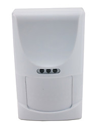 Wired Indoor Alarm Motion Detector With Microwave Anti-mask And Pet Immunity