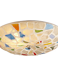 BOXOMIYA® Ceiling Lamp Diameter of The Mediterranean Restaurant 40cm Warm And Romantic Bedroom Led Garden Lamps