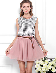 XIXI The Latest Version Of The European And American Fashion Broken Beautiful Skirts