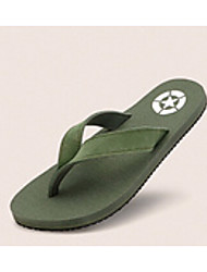 Men's Shoes Casual Rubber Slippers Black/Blue/Green