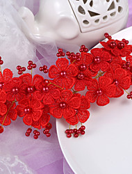 Rhinestone Practical Favors-1 Tea Party Favors Red Pearl