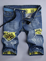 Men's Print Pant , Cotton Casual/Work/Sport