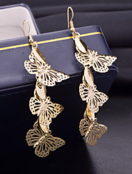 Damen Tropfen-Ohrringe Modeschmuck Aleación Tierform Tropfen Schmetterling Schmuck Für Hochzeit Party Alltag Normal