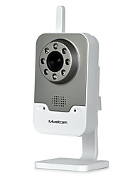 H816P Mustcam Indoor Wired/Wireless Network IP Camera, IR-Cut, H.264 (720P) Video Format