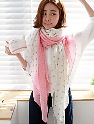 Wave Thin Fabric Soft Dot Scarf Shawl