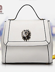 Handcee® Hot Sale New Fashion Woman PU Simple Tote Bag