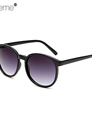 Lureme® Fashion Box Bar Joker Roundness Colours Reflect Light Couple Ultraviolet-Proof Sunglasses