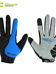 Basecamp Shipping Cycling Bicycle Gloves Nylon Winter Warm Sports Full Finger Gloves BlueBC-202L