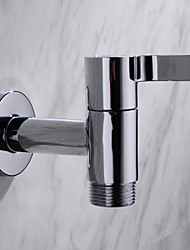 "HPB Contemporary G3/4"" Chrome Finish Brass Bibcock Single Cold Wall Washing Machine Taps"