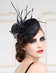 Women's Flax Headpiece - Wedding/Special Occasion Fascinators/Hats 1 Piece