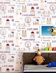 novo arco-íris ™ wallpaper arte contemporânea deco carton wallpaper revestimento de parede arte não-tecidos da parede da tela