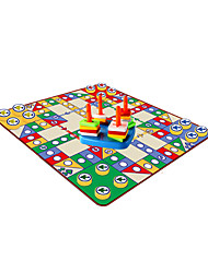 Aeroplane Chess And Piling Ring,Plastic Carpet,Intelligence Toys