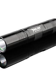 Lampes Torches LED / Lampes de poche LED 3 Mode 250 Lumens Faisceau Ajustable / Rechargeable Cree Q5 18650Camping/Randonnée/Spéléologie /