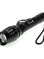 LED Flashlight Hot Sale 1600 lumens Torch Zoomable E3-T6 LED Flashlight T6 light tactical flashlight high power