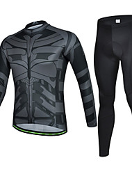 Long Sleeve Cycling Polyester Jersey & Pant Set Wear Clothing