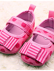 Baby Shoes Casual Fabric Flats Pink/Purple
