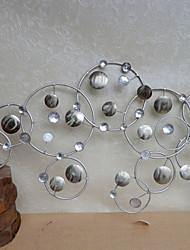 е-Home® декора стены металла искусства стены, круговой схеме декор стен один шт