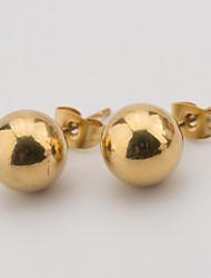 Woman Daily Stainless Steel Earrings