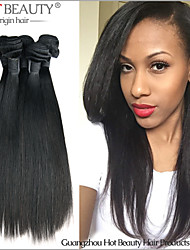 3Pcs/Lot 8-30inch Unprocessed Virgin Indian Hair Weaves Silky Straight Indian Virgin Hair