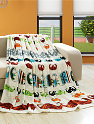 Super Home Winter Blankets and Throws Printed Blankets and Travel Blanket