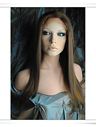 12-22 Inch Synthetic Lace Front Wigs Straight Photo Color #6/27 Photo Length 16 Inch SLW001