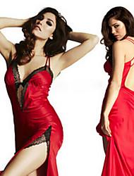 Women Strapped/Lace Bra/Sexy/Without Ring Nightwear/Bra & Panties Set